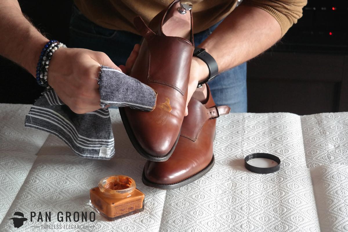 krem pommadier saphir pastowanie czyszczenie butow