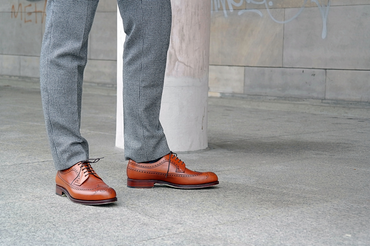 brogues derby longwing yanks