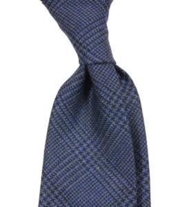 krawat bez podszewki wełniany