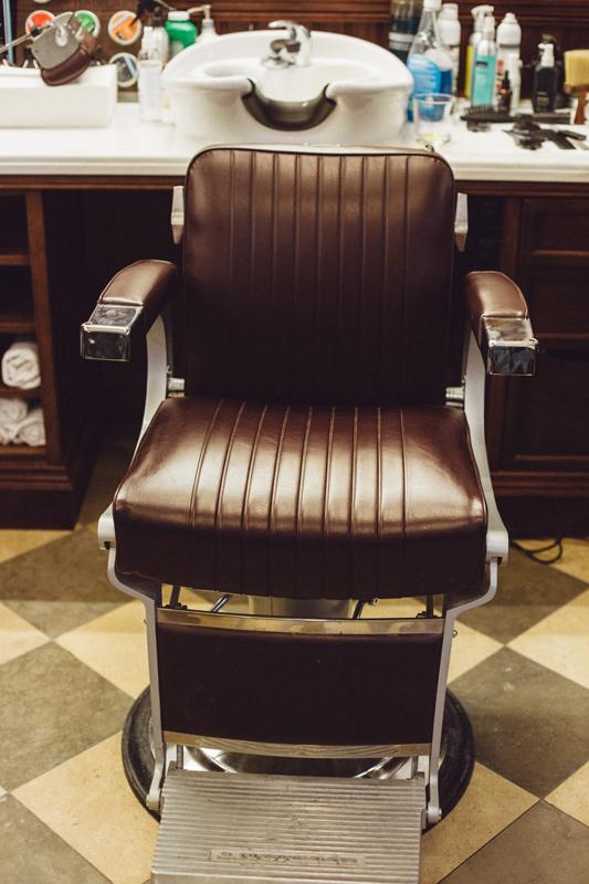 belmont fotel barber