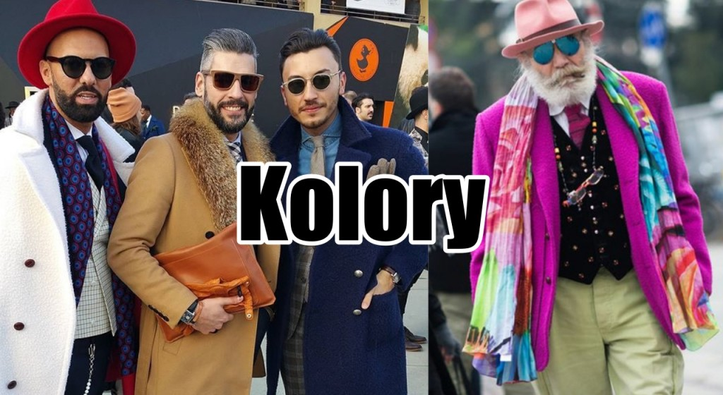 kolorowe garnitury pitti 2016 trendy