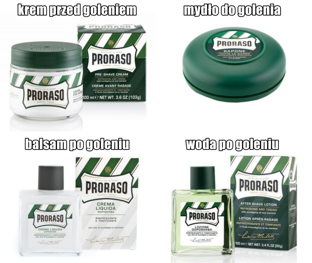 proraso do golenia