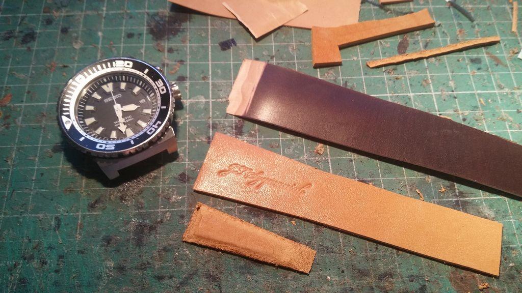 skórzany pasek do zegarka na zamówienie 6