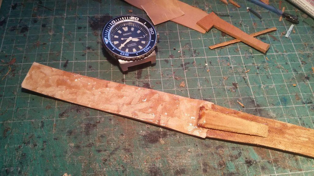 skórzany pasek do zegarka na zamówienie 5