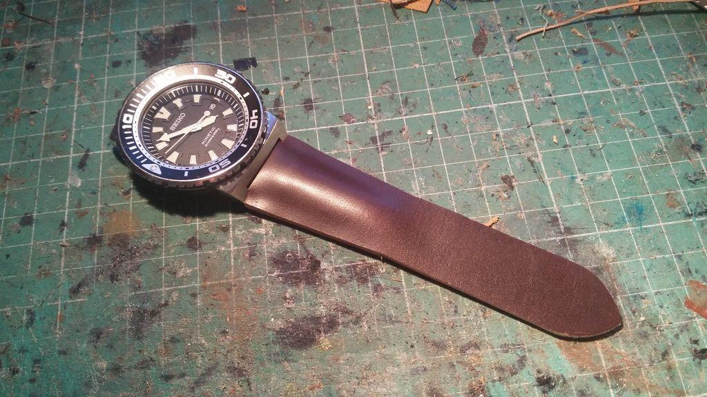 skórzany pasek do zegarka na zamówienie 3
