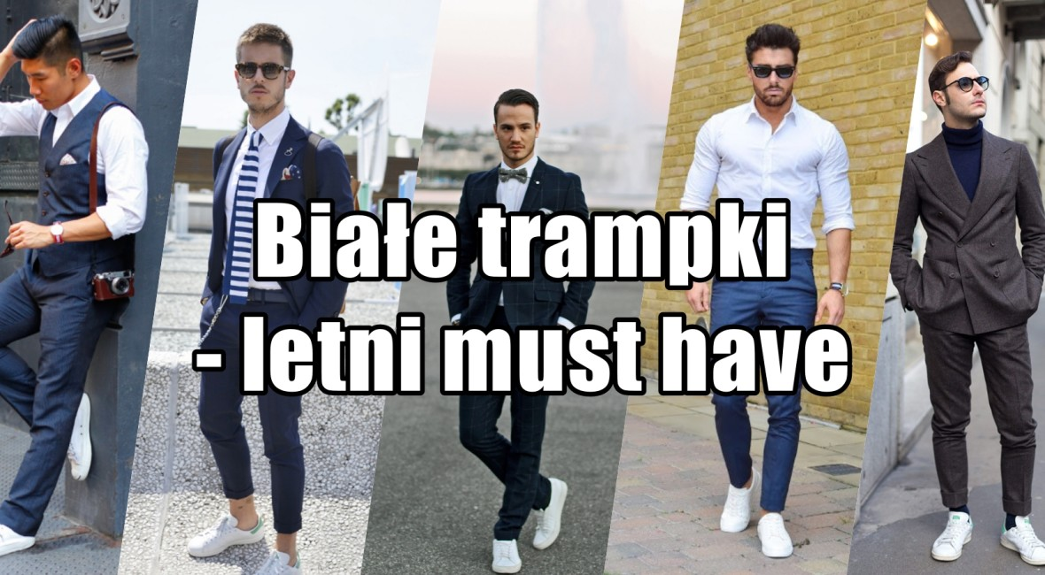 białe trampki white sneakers must have