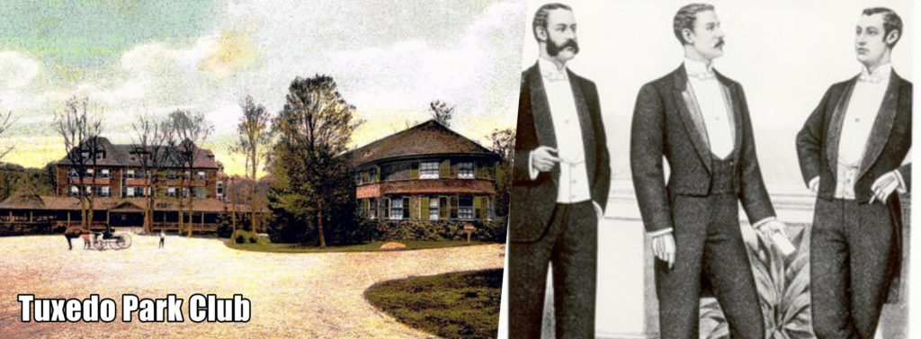 historia smokingu tuxedo park club ny