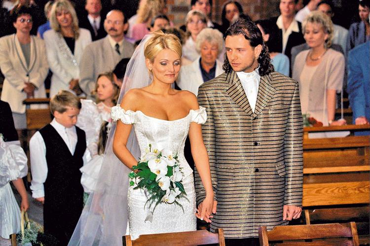 majdan pierwszy ślub