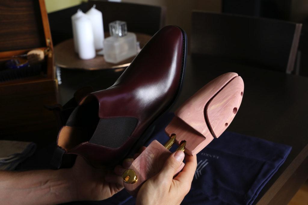 konserwacja obuwia saphir yanko