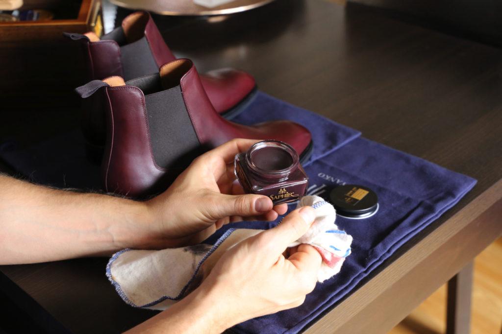 konserwacja obuwia