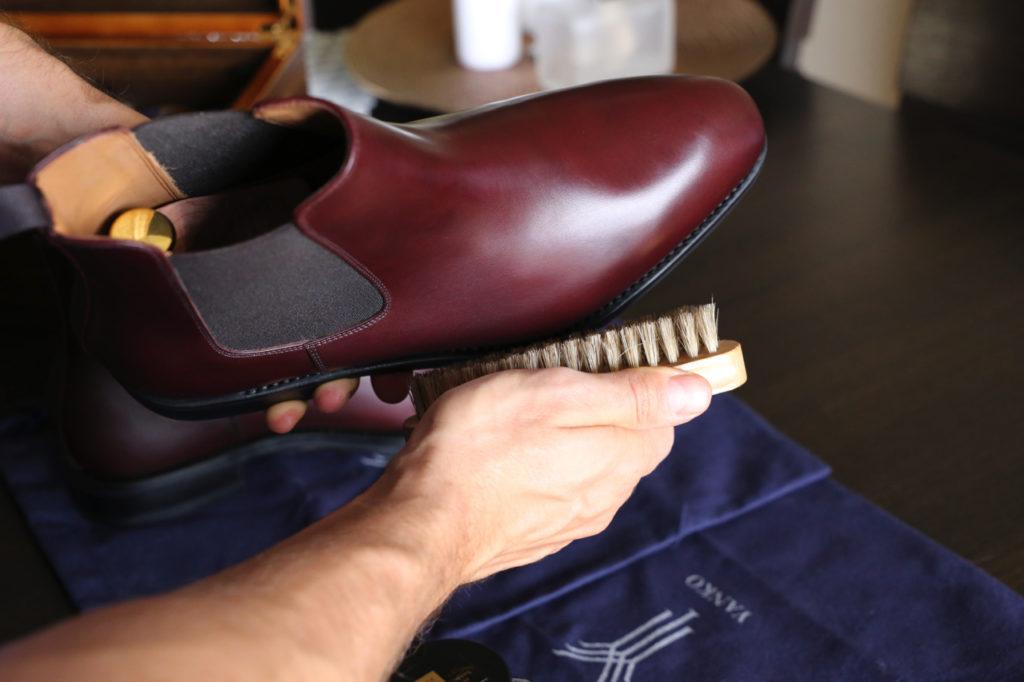 konserwacja obuwia pastowanie