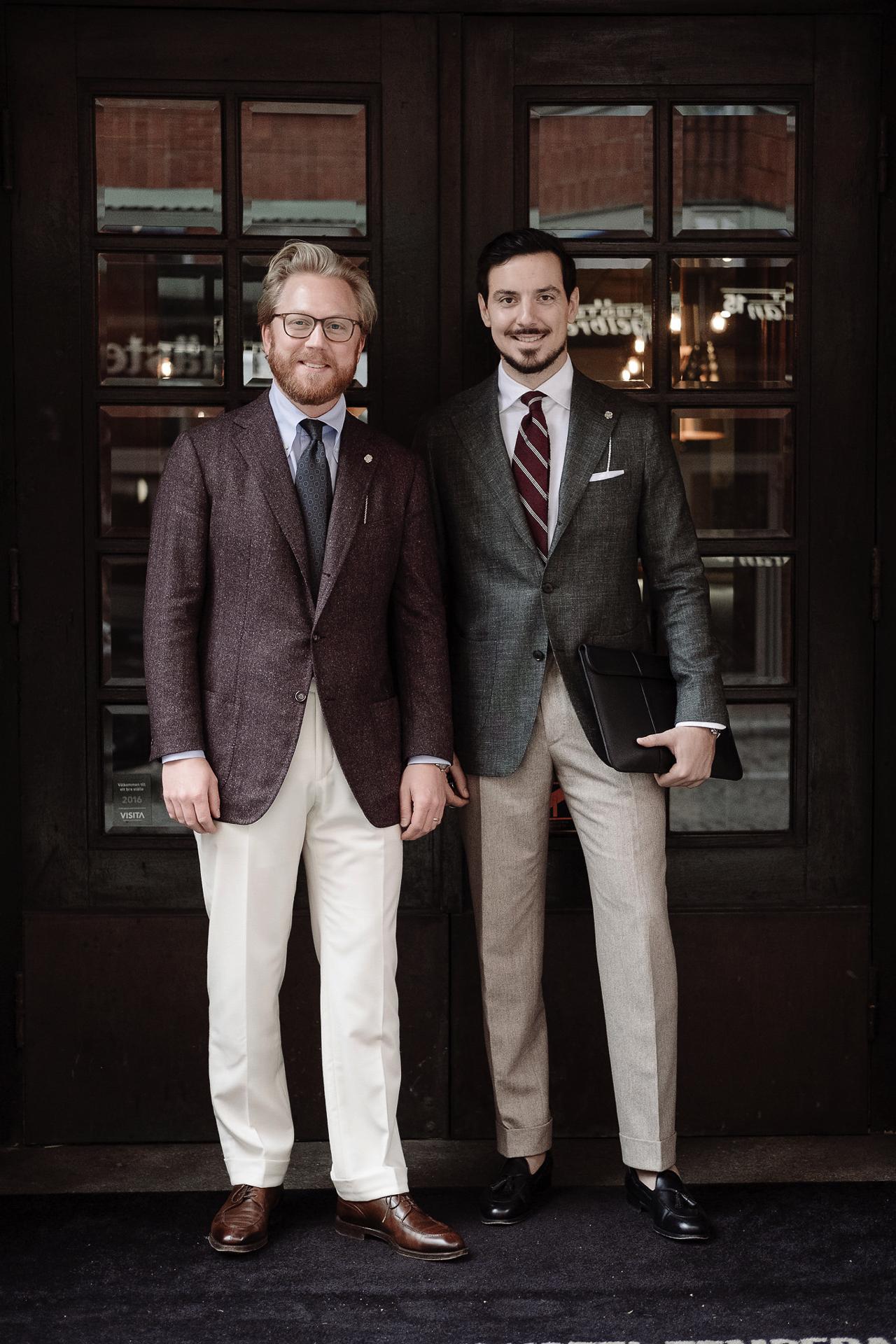 jak ubierają się Szwedzi - aleks i andreas