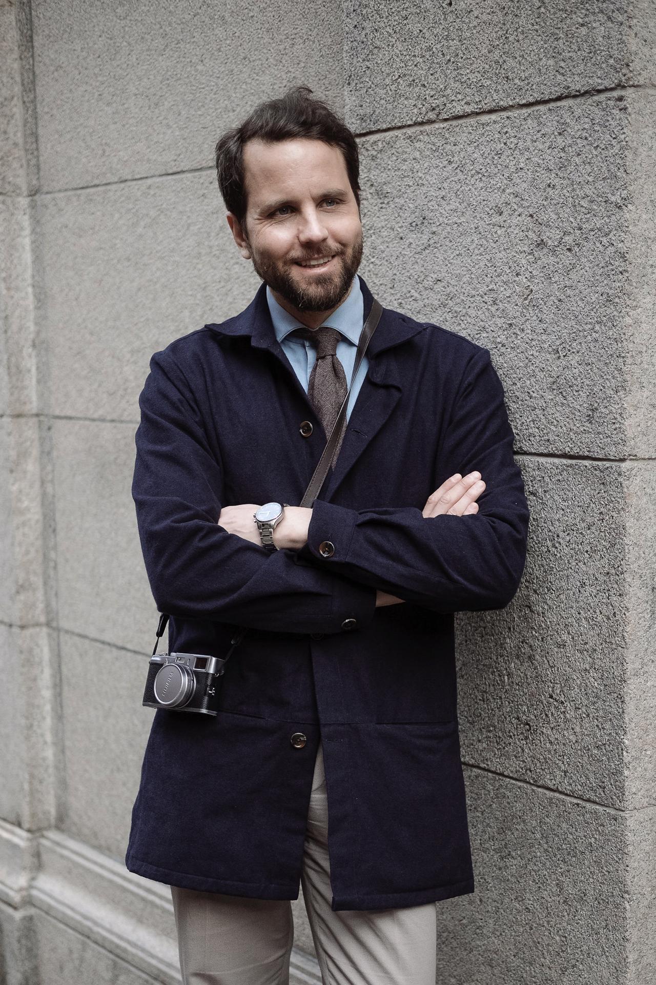 jak się ubierają Szwedzi - Erik Mannby