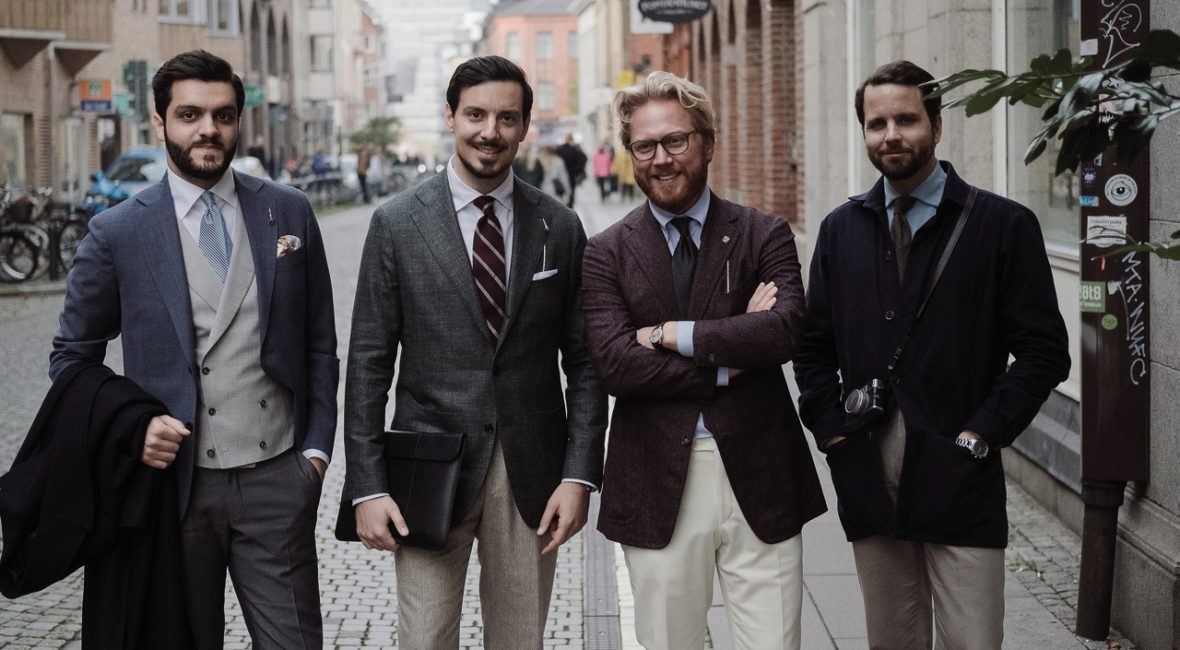jak ubierają się Szwedzi - trunk show