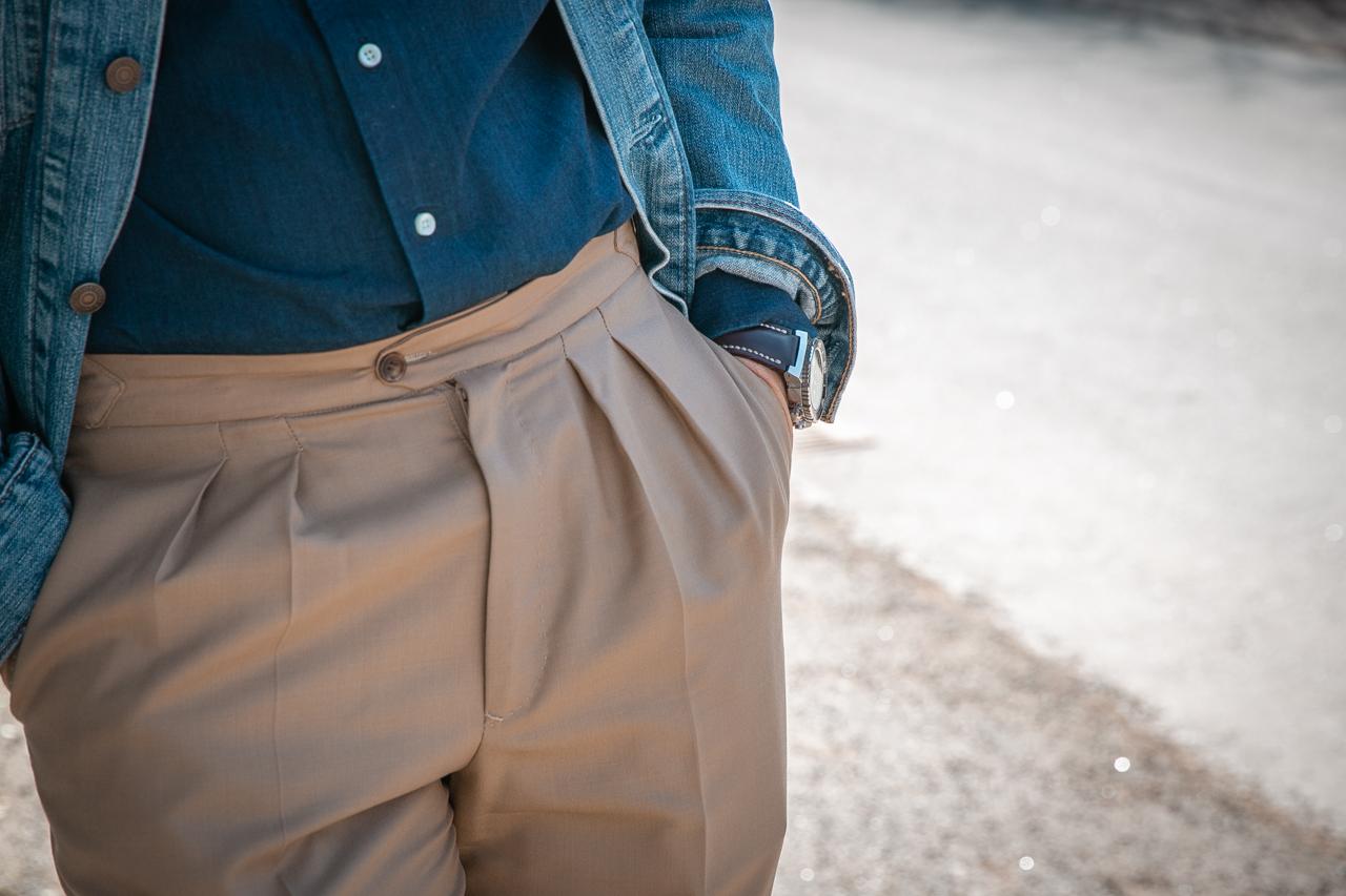 dżins z dżinsem (jeans z jeansem)
