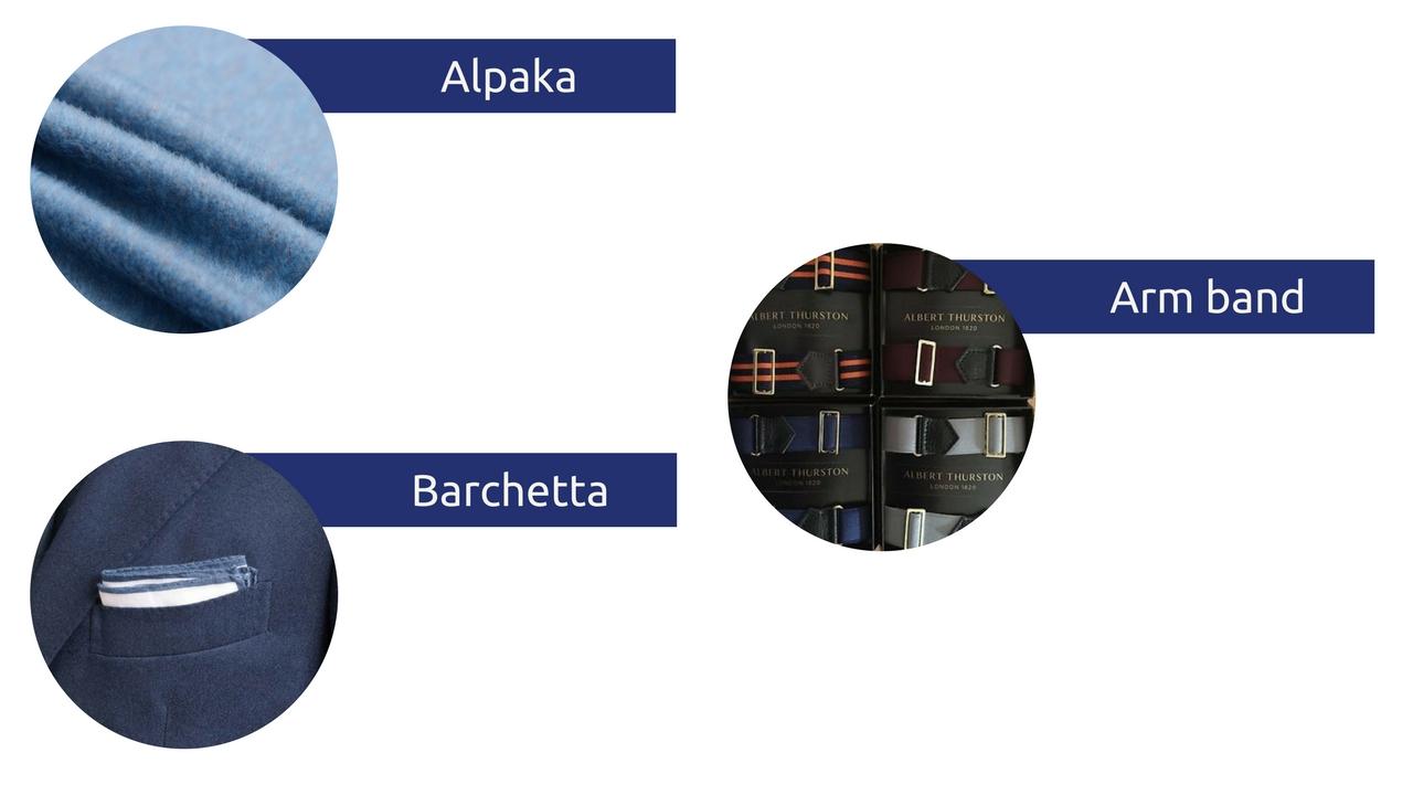 słowniczek pojęć moda męska słownik alpaka arm band barchetta