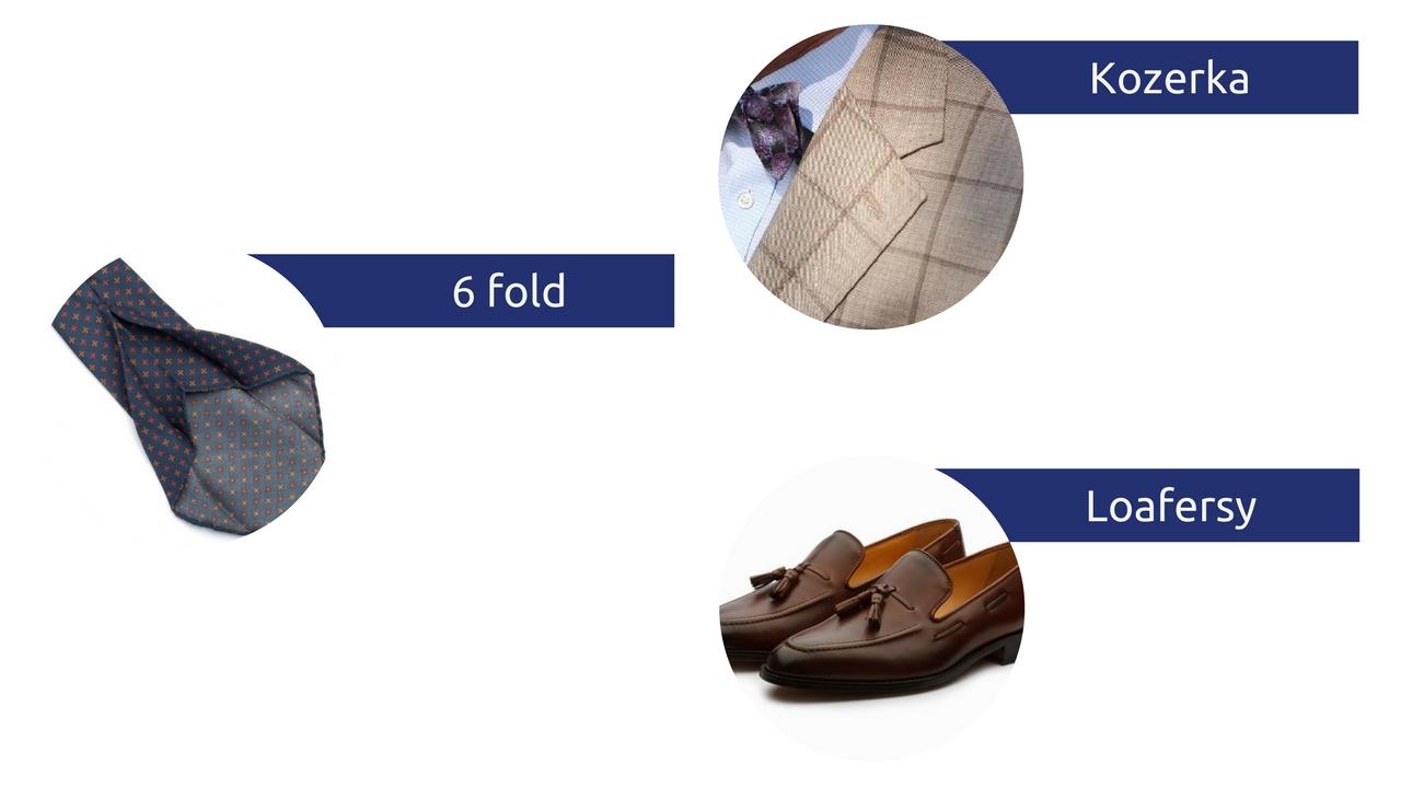 słowniczek pojęć moda męska słownik kozerka 6 fold loafersy