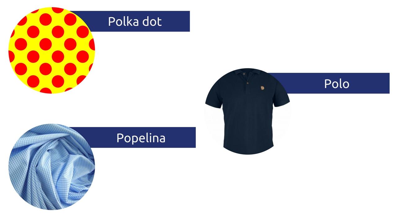 słowniczek pojęć moda męska słownik polka dot polo popelina