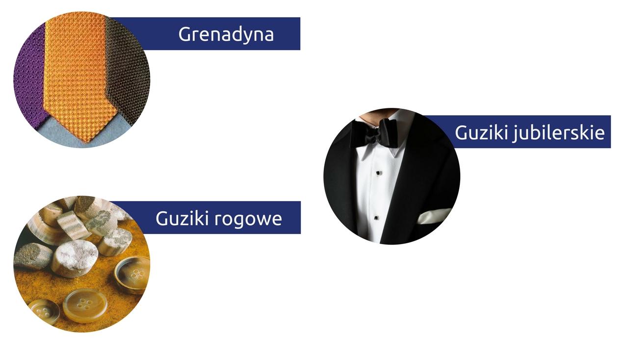 słowniczek pojęć moda męska słownik grenadyna guziki jubilerskie guziki rogowe