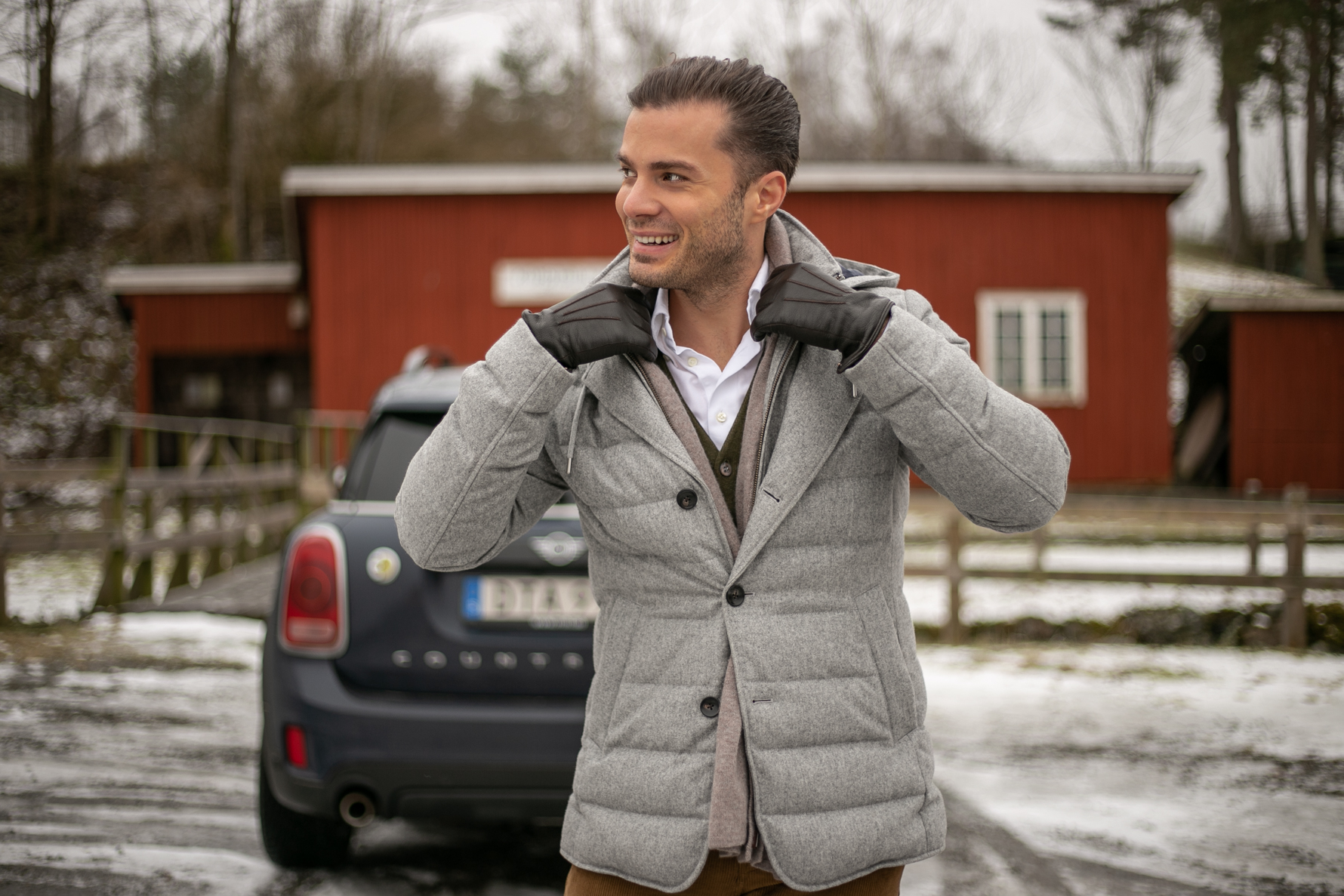 wełniana kurtka zimowa suitsupply