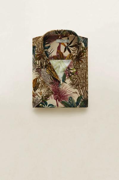 Koszula hawajska MANGO