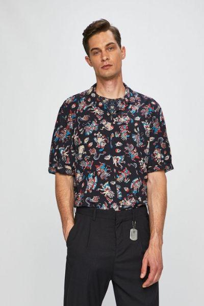 Koszula krótki rękaw hawajska