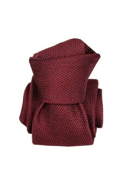 Krawat z grenadyny garza fina burgund