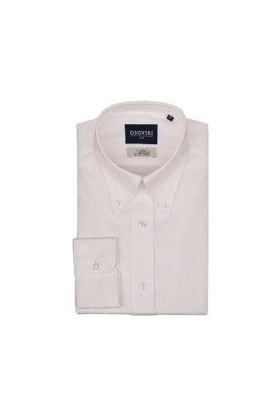 Koszula biała z kołnierzykiem button down Osovski