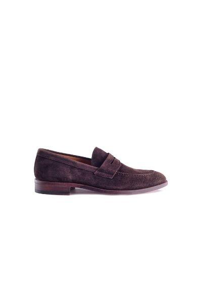 Zamszowe penny loafers Berwick