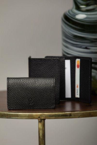 Minimalistyczny portfel męski skórzany Garda