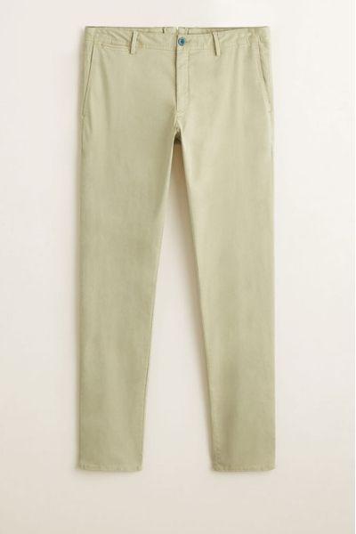 Spodnie bawełniane MANGO