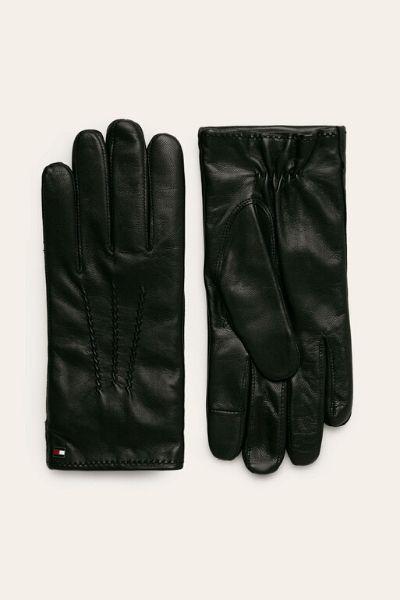 Rękawiczki Skórzane Tommy Hilfiger