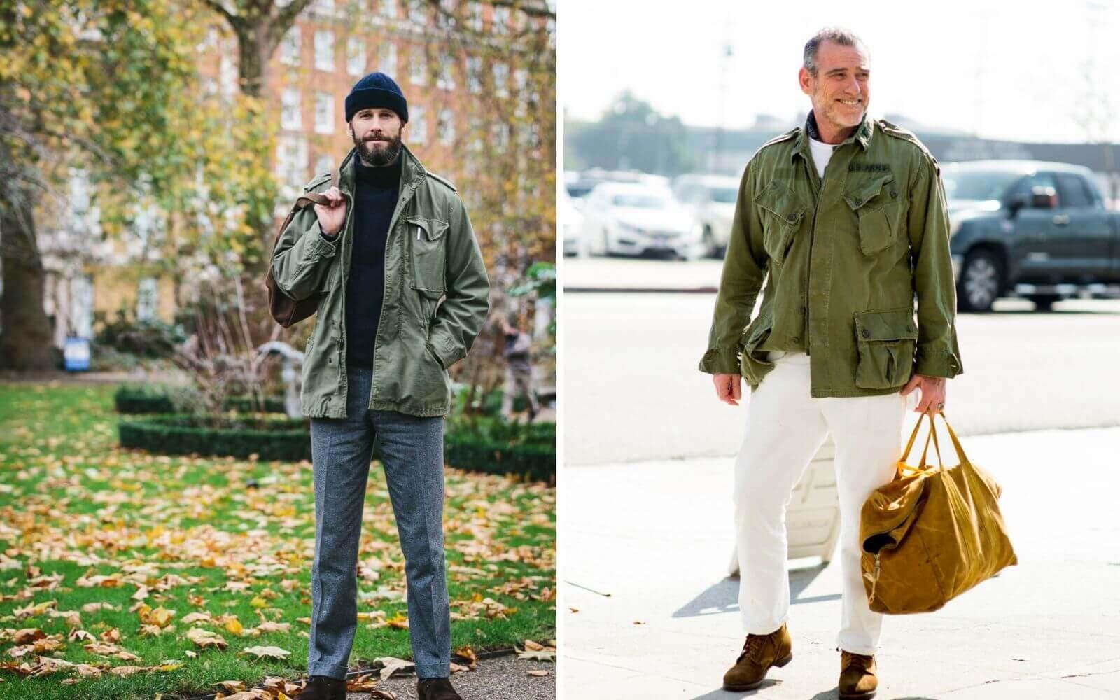 field jacket alessandro squarzi
