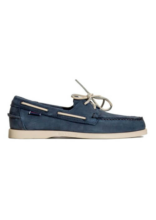 Buty żeglarskie niebieskie SEBAGO