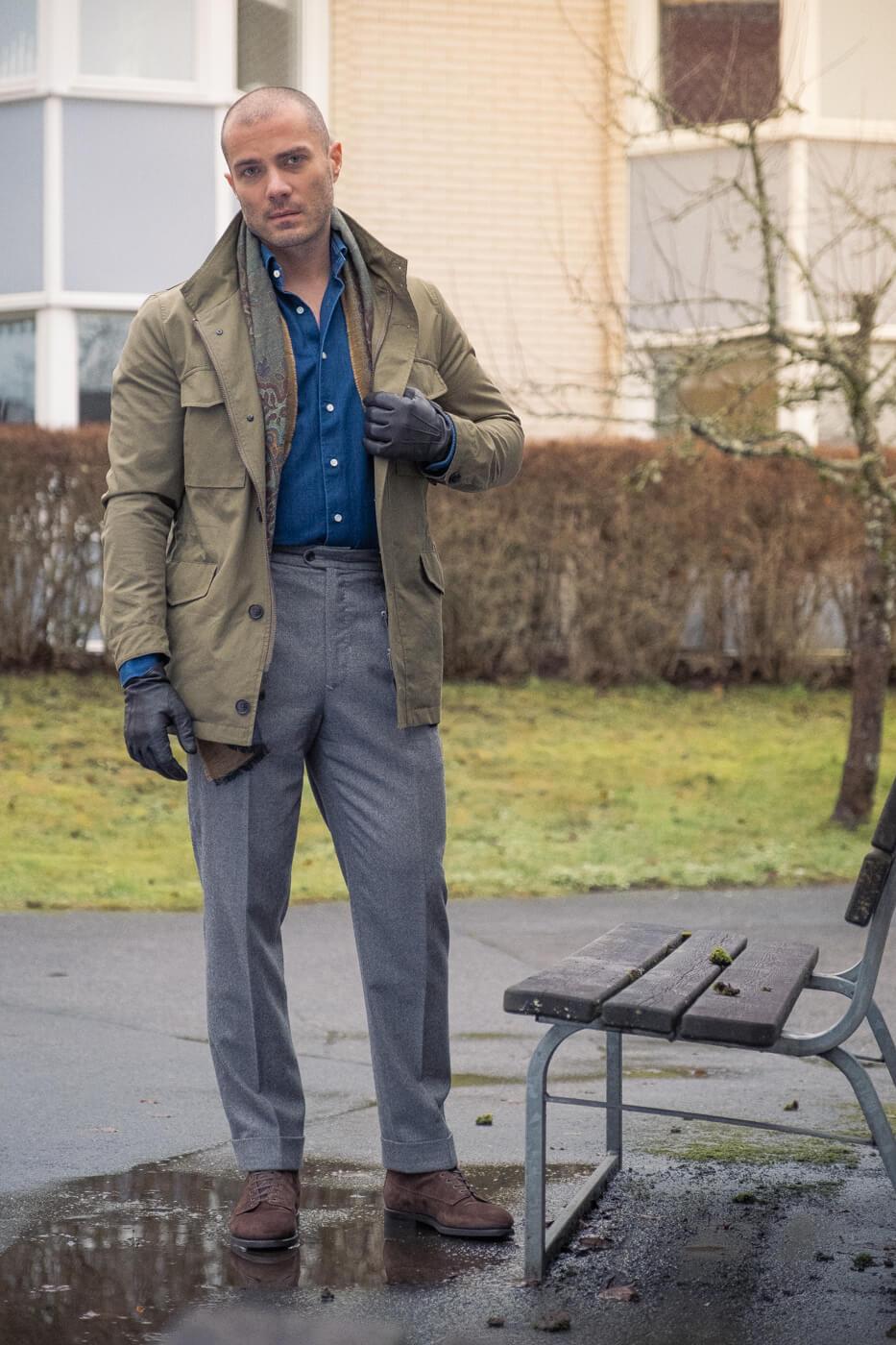Buty Barbanera Kerouac suede boots