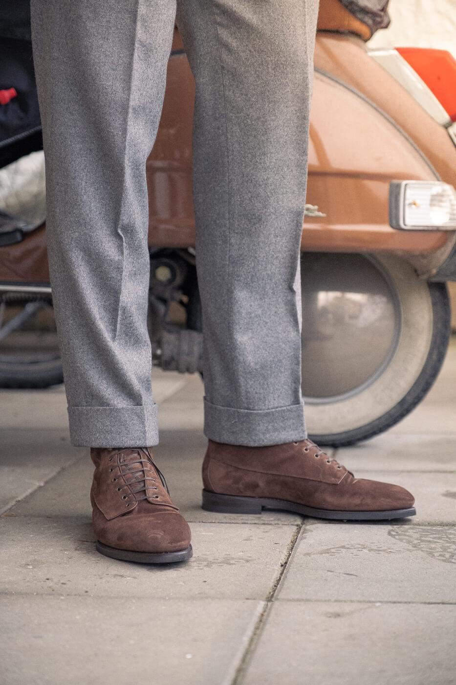 Buty Barbanera Kerouac shoes zamszowe
