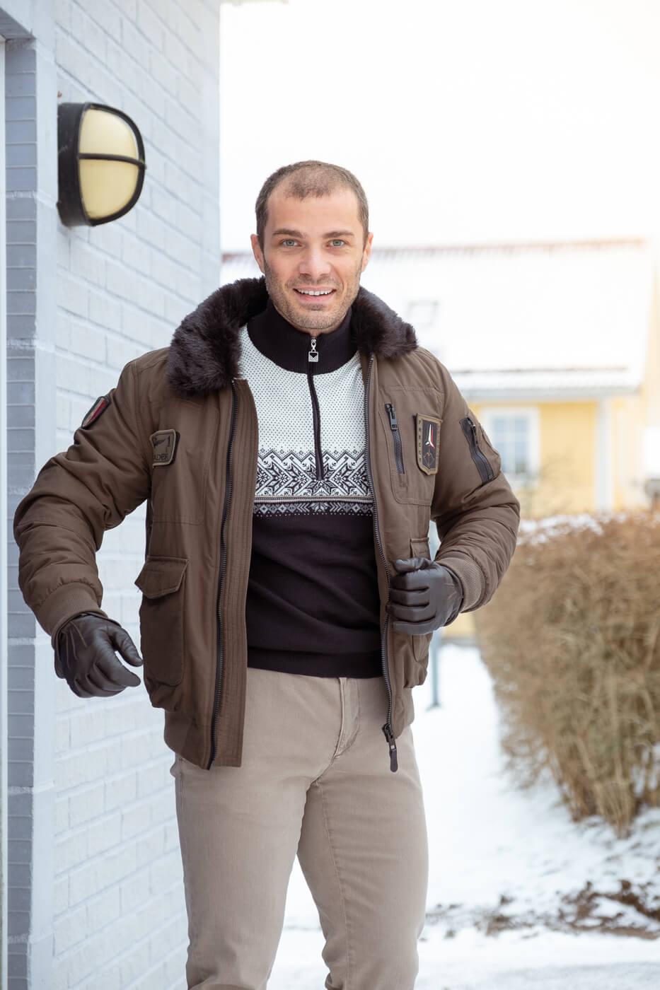 zimowa stylizacja sportodino
