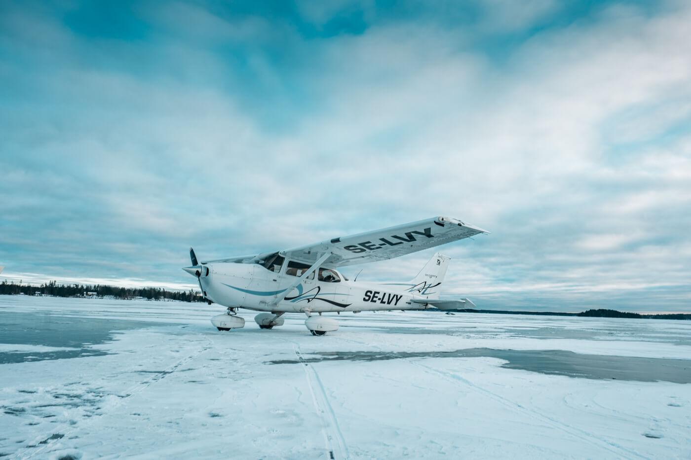 Cessna 172s SE-LVY